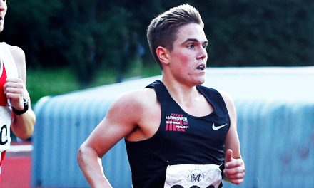 Jake Smith motivated for more after fast 10,000m time trial