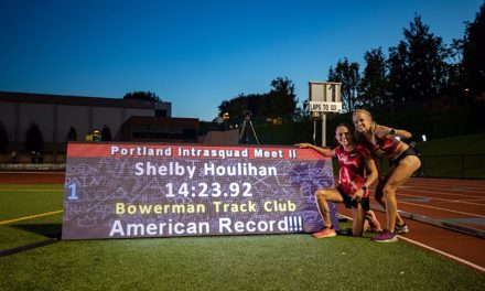 Shelby Houlihan and Moh Ahmed smash North American 5000m records