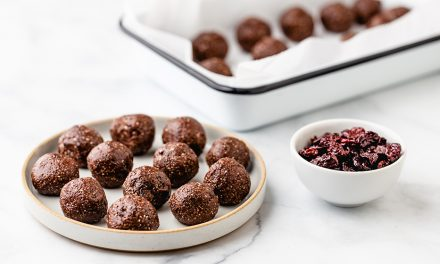 Recipe: Tart cherry coconut energy balls
