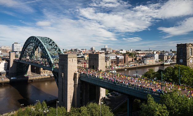 Runners ready for Virtual Great North Run