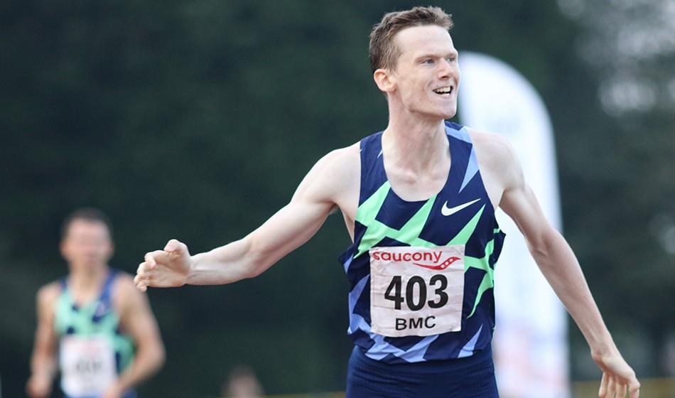 Max Burgin runs 1:44 UK U20 800m record at Trafford