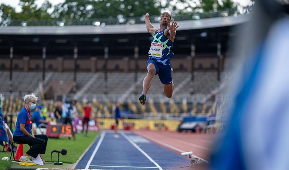 Long jump experiment falls short