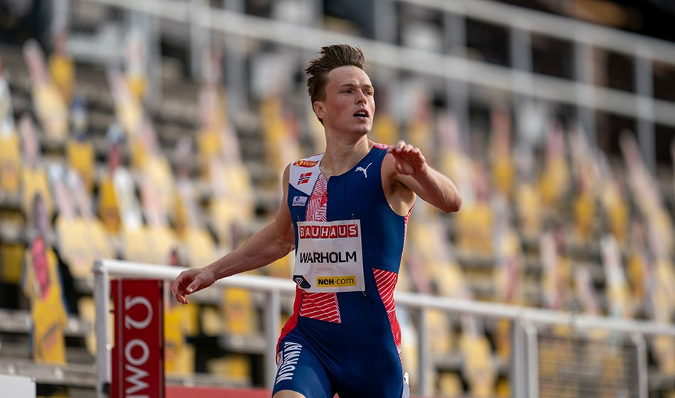 Double dose of victory for Warholm as Gemili lands 200m win