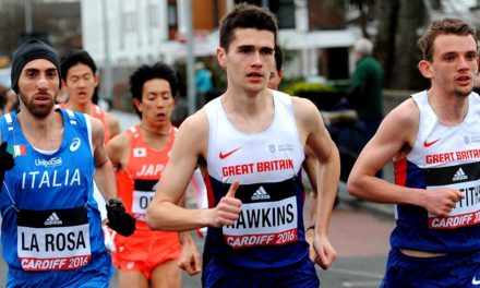 Callum Hawkins and Charlotte Purdue on GB World Half team