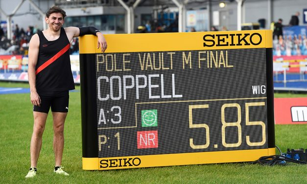 British record for Harry Coppell in Manchester